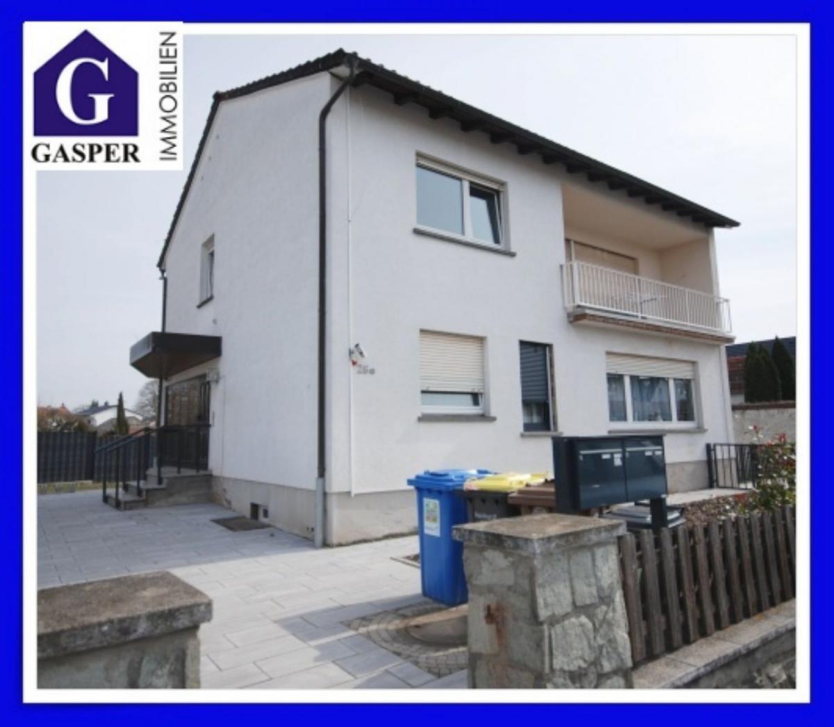 Raunheim - Großzügige 3-Zimmer-Wohnung in 2-Familienhaus mit Garten